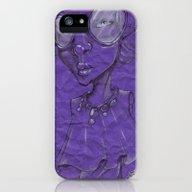 Purple iPhone (5, 5s) Slim Case
