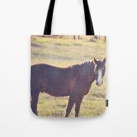 Chesnut Horse Tote Bag
