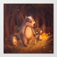 Candlemoon Woods Canvas Print