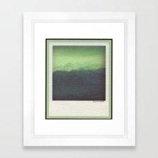 Spring Storm- High Olympics Framed Art Print