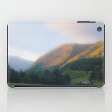 Golden Mountain Sunset iPad Case