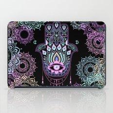 Pastel Hamsa amulet iPad Case