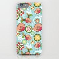 Xmas Robins iPhone 6 Slim Case