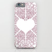 iPhone & iPod Case featuring Love Lace by Sarah Churchill