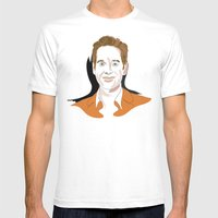Paul Rudd Mens Fitted Tee White SMALL