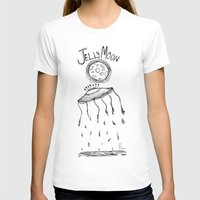 Jelly Moon V.2 Womens Fitted Tee White SMALL