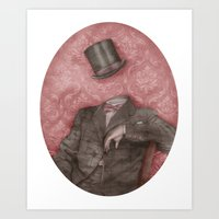 In Which The Head Is Els… Art Print