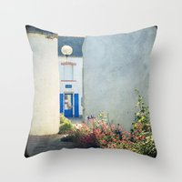 Houat #5 Throw Pillow