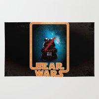 Bear Wars - Darth Teddy Rug