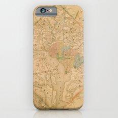Civil War Washington D.C. Map Slim Case iPhone 6s
