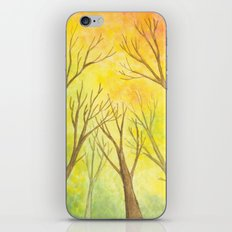 Autumn Forest II iPhone & iPod Skin