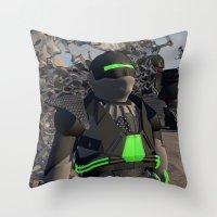 #SELFIE SPRAY Throw Pillow