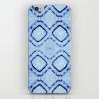 Tie-Dye Dia Sky iPhone & iPod Skin