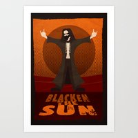 Blacken the Sun Art Print
