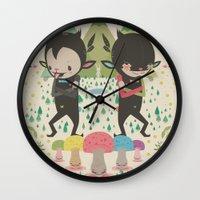 MAGIC LAVA 山 GOLD COINS Wall Clock