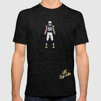 Bolt Up - Manti Te'o Mens Fitted Tee Tri-Black SMALL