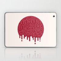 Painted Red Laptop & iPad Skin
