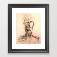 George Framed Art Print
