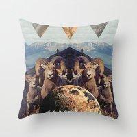 MYSTIC//FORGOTT Throw Pillow