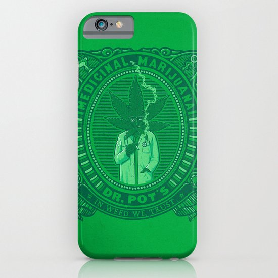 Medicinal Marijuana iPhone & iPod Case