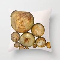 Wood Wood 1 Throw Pillow