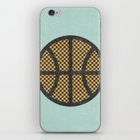 Op Art Basketball. iPhone & iPod Skin