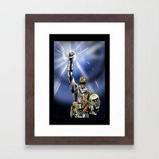 Tim Duncan, Lord of the Rings Framed Art Print
