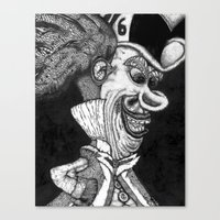 Mad Hatter HiDef Canvas Print