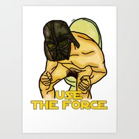 Use The Force Art Print