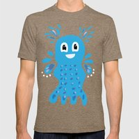 Undiscovered Sea Creatures Mens Fitted Tee Tri-Coffee SMALL