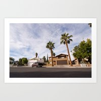 las vegas (one) Art Print
