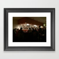 Sushi Bar Framed Art Print