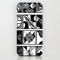 iPhone & iPod Case featuring lines and curves by Michelle Fernando