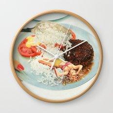 Toothpick Wall Clock