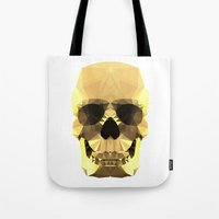 Polygon Heroes - Gold Sk… Tote Bag