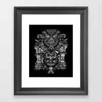 Ri-Damn-Diculous Framed Art Print