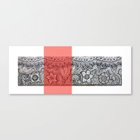 Four Sides Of A Box (iii… Canvas Print