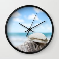 Sally Sold Sea Shells Wall Clock