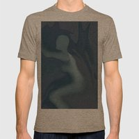 The Blue Lady Mens Fitted Tee Tri-Coffee SMALL