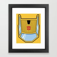 Transformers - Sunstreak… Framed Art Print