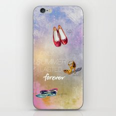 If only summer lasted forever...  iPhone & iPod Skin