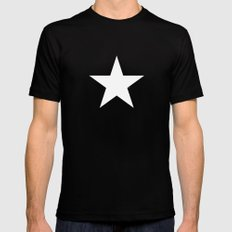 Star by Friztin Mens Fitted Tee Black SMALL