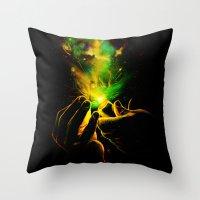 Light It Up! Throw Pillow