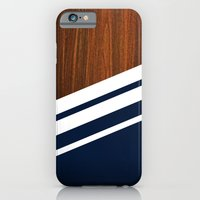 iPhone Cases featuring Wooden Navy by Nicklas Gustafsson
