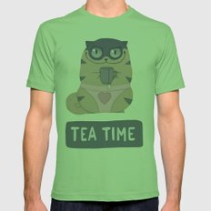 Boggart Tea Time Mens Fitted Tee Grass SMALL