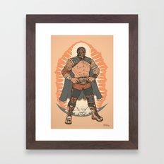 Lucha De Guadalupe Framed Art Print