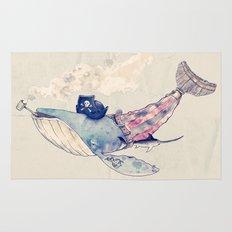 Pirate Whale Rug