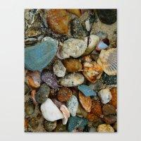 Walk On The Beach Canvas Print