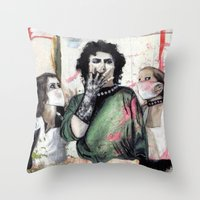 The Rocky Horror Picture… Throw Pillow
