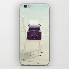 The Voice of the Sea. iPhone & iPod Skin